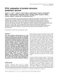 EVA - CNB - Protein Design Group