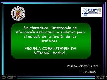 Integración de información estructural y evolutiva para el estudio de ...