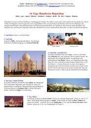 Best of Rajasthan 16 Tage - Maharaja-Reisen