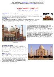 Basic Rajasthan 10 Tage - Maharaja-Reisen