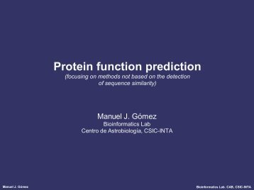 Protein Function Prediction - Protein Design Group.