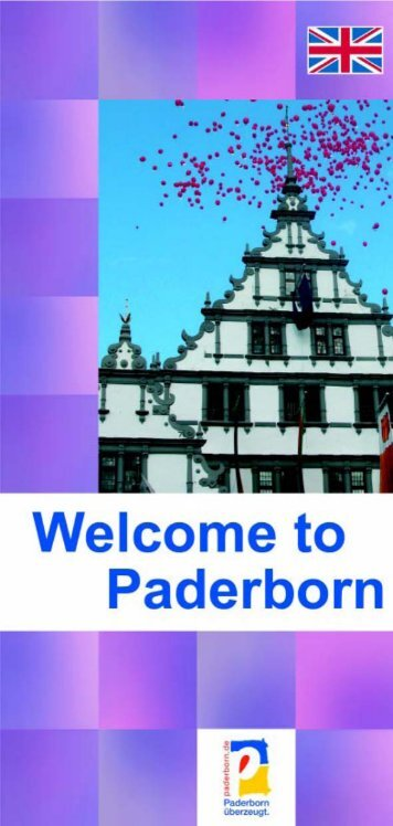 Welcome in Paderbborn 1.p65 - Paderborn.de