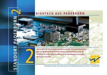 paderborn innovativer standort - Paderborn.de