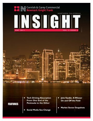 May 2011 Issue - Cornish & Carey Commercial Newmark Knight Frank