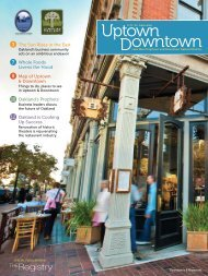 City of Oakland: Uptown Downtown - The Swig Company