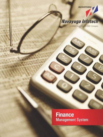 Finance - Navayuga Infotech