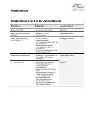 Musterablauf Brand und Notfall - TQMZ
