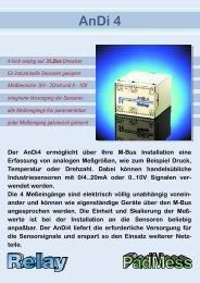 0/4 - 20mA und 0 - Relay GmbH