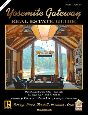 Mountain Properties - Yosemite Gateway Association of REALTORS