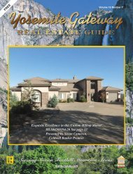 Serving Sierra Foothill Mountain Areas Serving Sierra Foothill ...