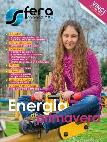 sfera magazine Aprile 2010