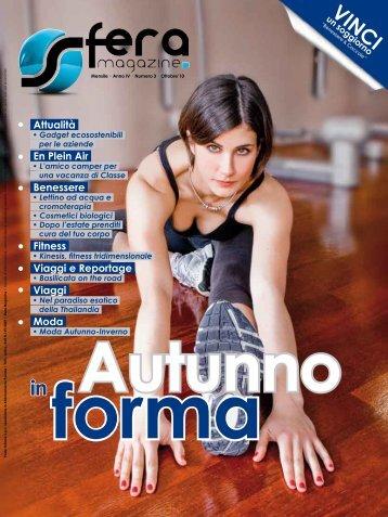 Attualità En Plein Air Benessere Fitness Viaggi e ... - Sfera magazine