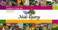 Moblats e jases rurals - Pays Midi-Quercy