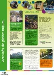 Activités de pleine nature - Pays Midi-Quercy