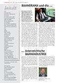 BAHNORAMA und die … … österreichische BAHNINDUSTRIE - Seite 2