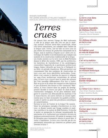 Terres crues - Pays Midi-Quercy