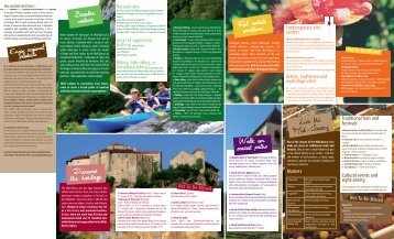 Live the Midi-Quercy Feel artistic emotions ... - Pays Midi-Quercy