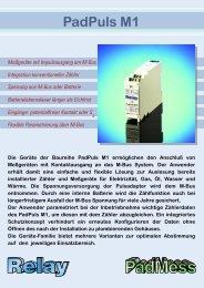 PadPuls M1 - PadMess GmbH