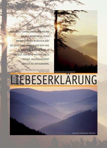 wanderwelt schmallenberger sauerland - Fleckenberg