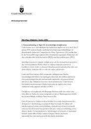1. Sammanfattning av läget för de mänskliga rättigheterna Under ...