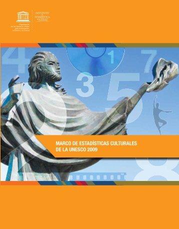 Marco de estadísticas culturales (MEC) de la UNESCO ... - unesdoc