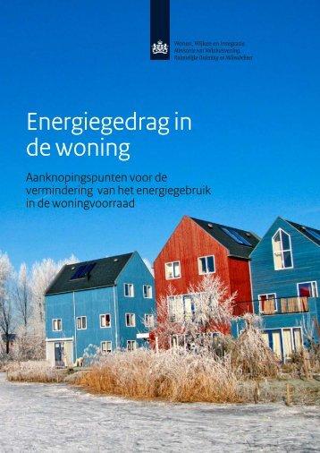Brochure Energiegedrag in de woning. - Fair Huur voor verhuurders
