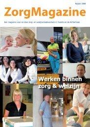 ZorgMagazine 2008 - WGV Zorg en Welzijn