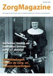 ZorgMagazine 2007 - WGV Zorg en Welzijn