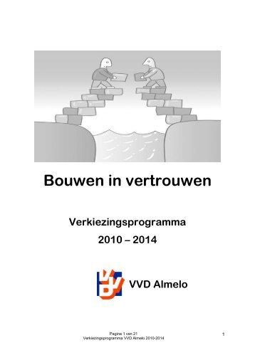 Vvd Verkiezingsprogramma 2012 Pdf