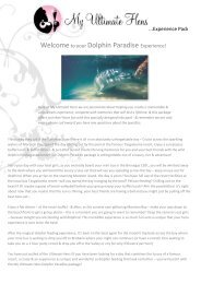 Welcometo your Dolphin Paradise Experience! - My Ultimate Hens ...