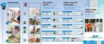 Abfall richtig sortiert (PDF) - Paderborn.de