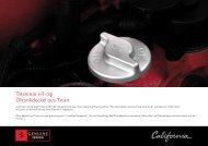 Titanium oil cap Öltankdeckel aus Titan