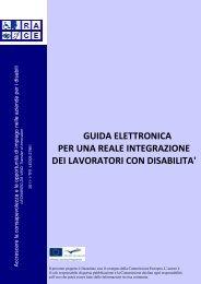 Guida elettronica per una effettiva integrazione delle Persone con ...