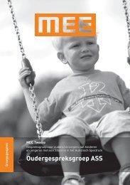 Oudergespreksgroep ASS - MEE Twente