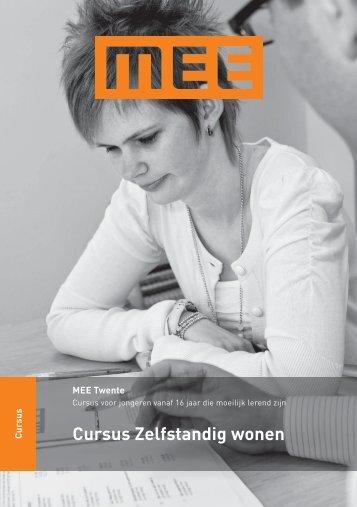 Cursus Zelfstandig wonen - MEE Twente