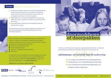 brochure over AVBO - MEE Twente