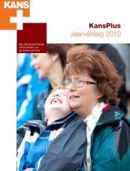 KansPlus Jaarverslag 2010