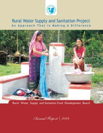 ANNUAL REPORT_2008.pdf - Rural Water Supply and Sanitation ...