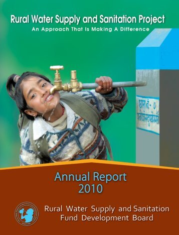 ANNUAL REPORT_2010 ENGLISH.pdf - Rural Water Supply and ...