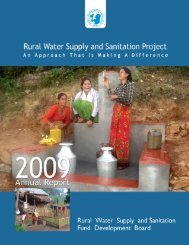 final annual report_2009.pdf - Rural Water Supply and Sanitation ...