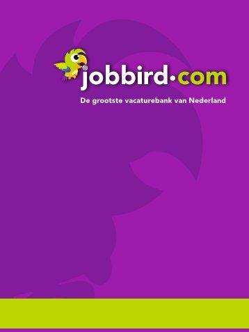 De grootste vacaturebank van Nederland - Jobbird.com