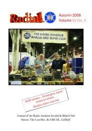 Autumn 2008 Volume 52 No. 2 - raibc