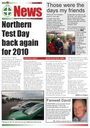 NGMW Newsletter Spring 09 - The Northern Group of Motoring Writers
