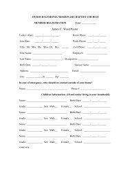 Member Form