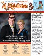 114th Illustrious Potentate Al Malaikah Shrine David Wehmeyer and ...
