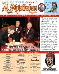 Your Magazine - Al Malaikah Shrine Temple