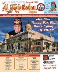 Are You Ready For The Second Half Of 2011 ? - Al Malaikah Shrine ...