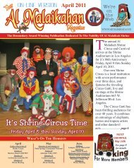 It's Shrine Circus Time - Al Malaikah Shrine Temple