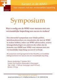 Symposium WMO 17 oktober 2013 - Platform VG