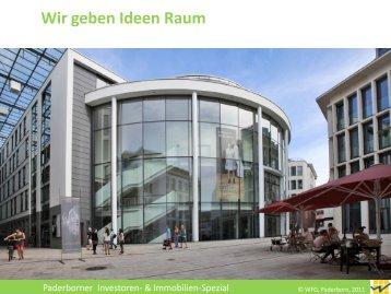 Wir geben Ideen Raum - Paderborn.de